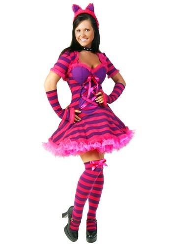 Womens Wonderland Cat Costume