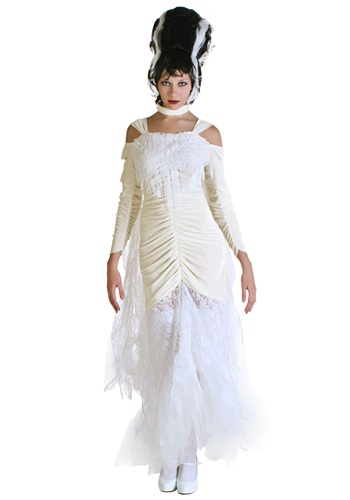 Gothic Bride of Frankenstein Costume