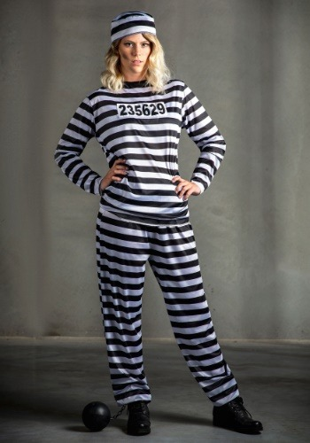 Womens Convicted Criminal Costume