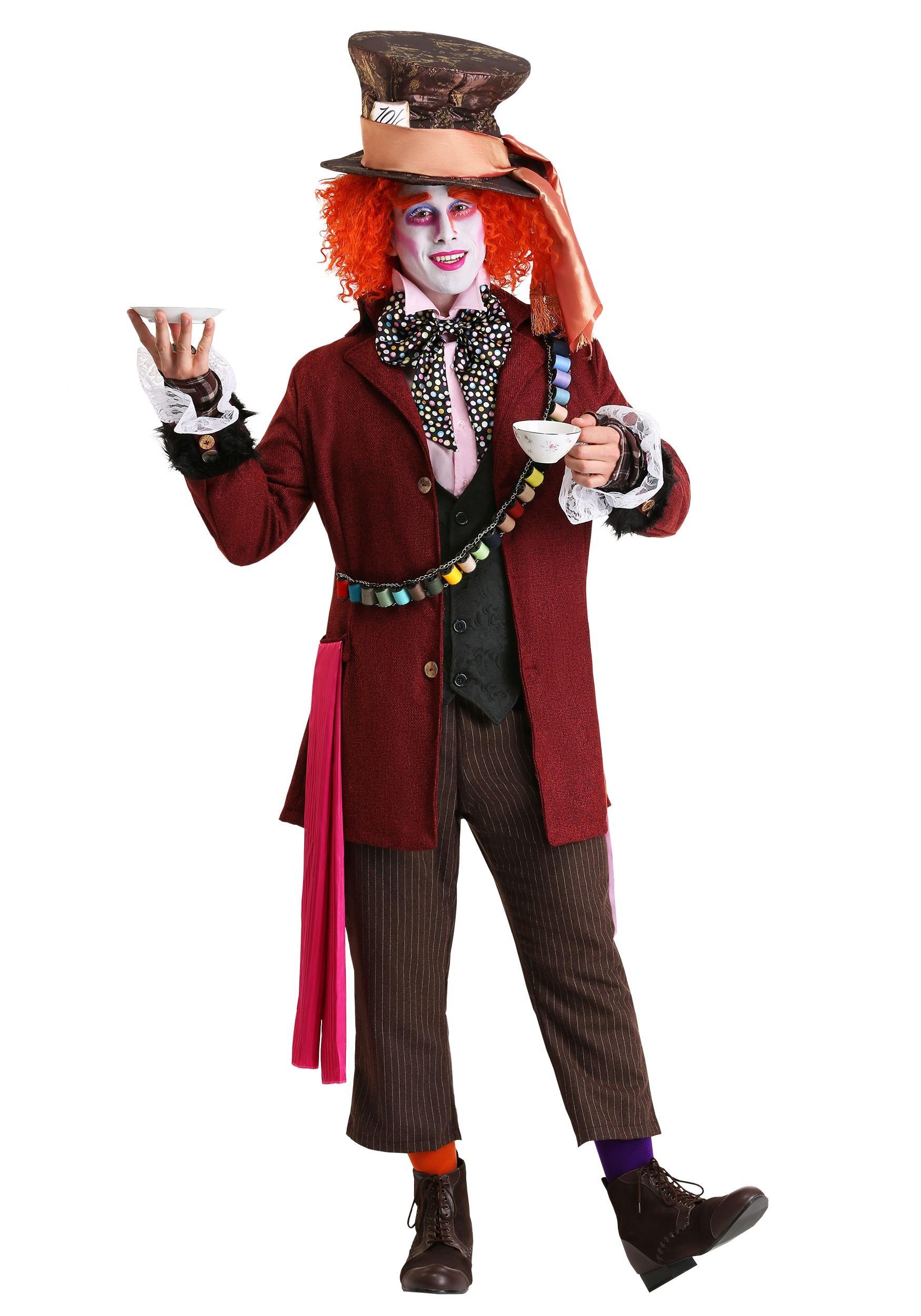 Authentic Mens Mad Hatter Costume - Johnny Depp Mad Hatter ... | 1750 x 2500 jpeg 344kB