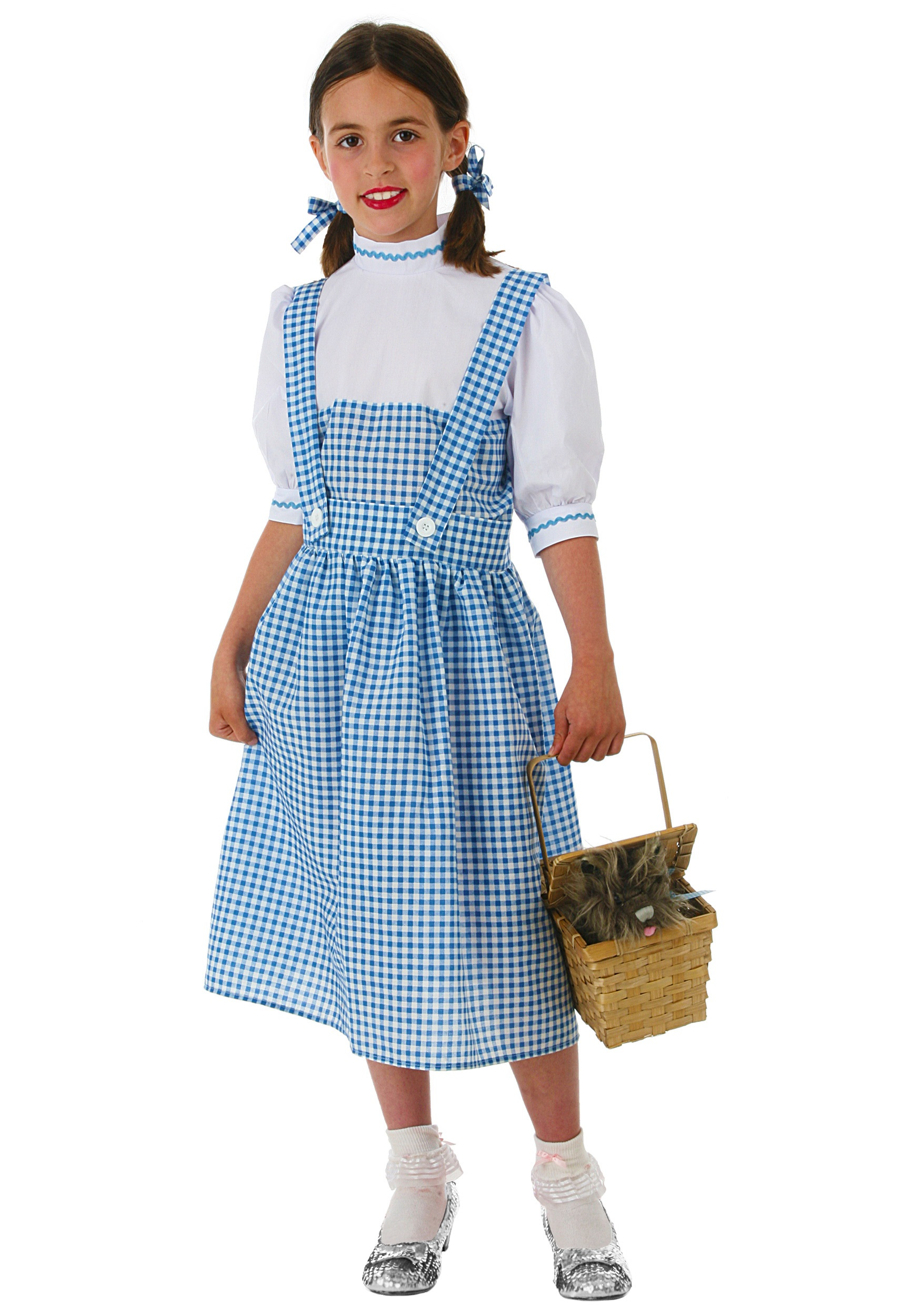 Kids Dorothy Costume  sc 1 st  Halloween Costume & Girls Dorothy Costume - Kids Wizard of Oz Dorothy Halloween Costumes