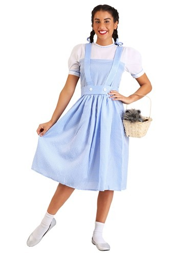 Adult Classic Dorothy Costume Dress Wizard Of Oz Dorothy Costumes