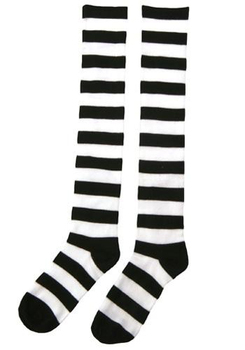 Witch's Striped Socks