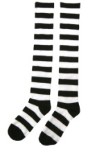 Witch's Striped Socks