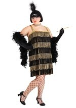 Black & Gold Flapper Plus