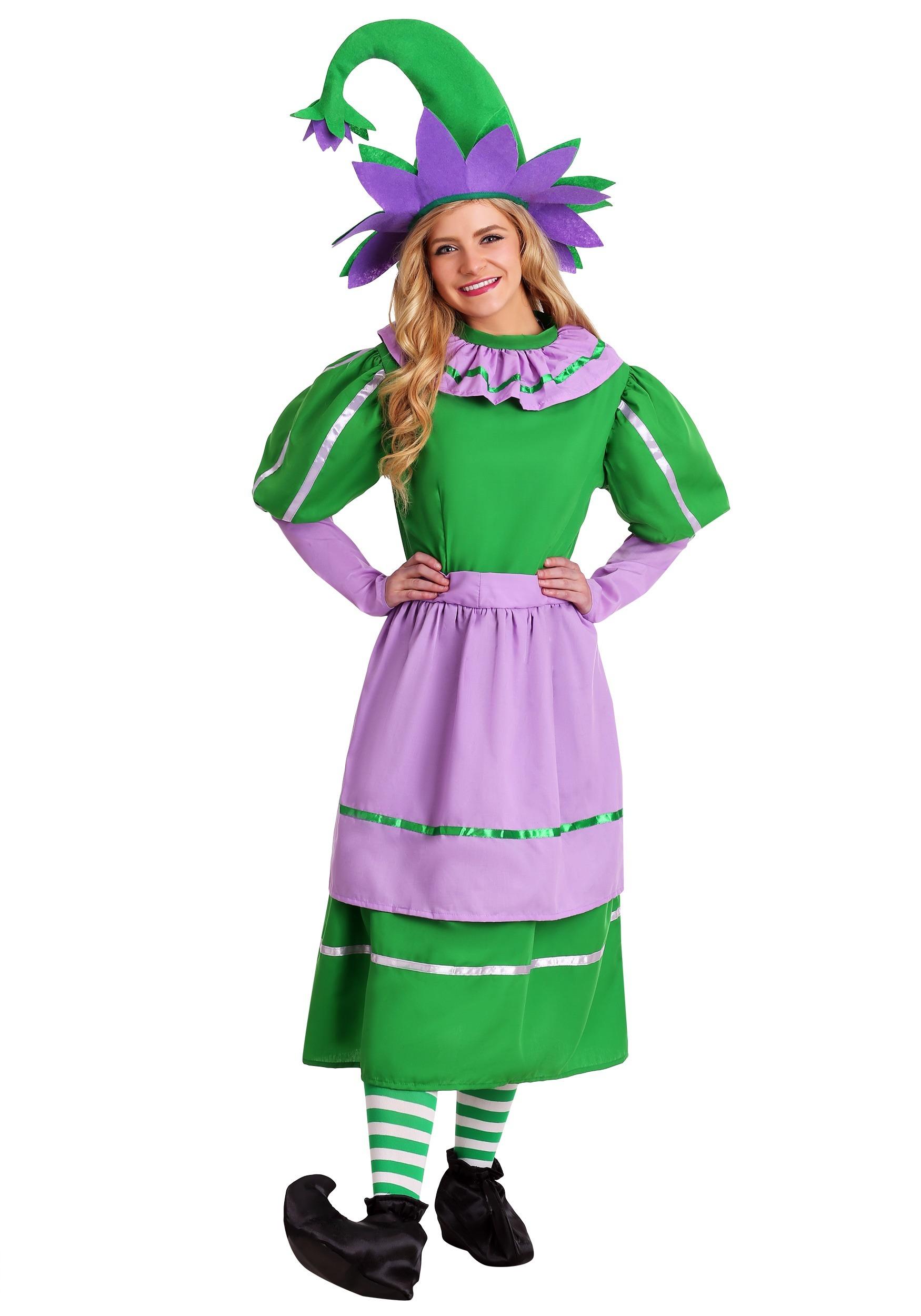 plus size little munchkin girl costume - plus size wizard of oz