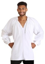 White Peasant Tunic Plus