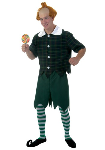 Men's Plus Size Munchkin Costume