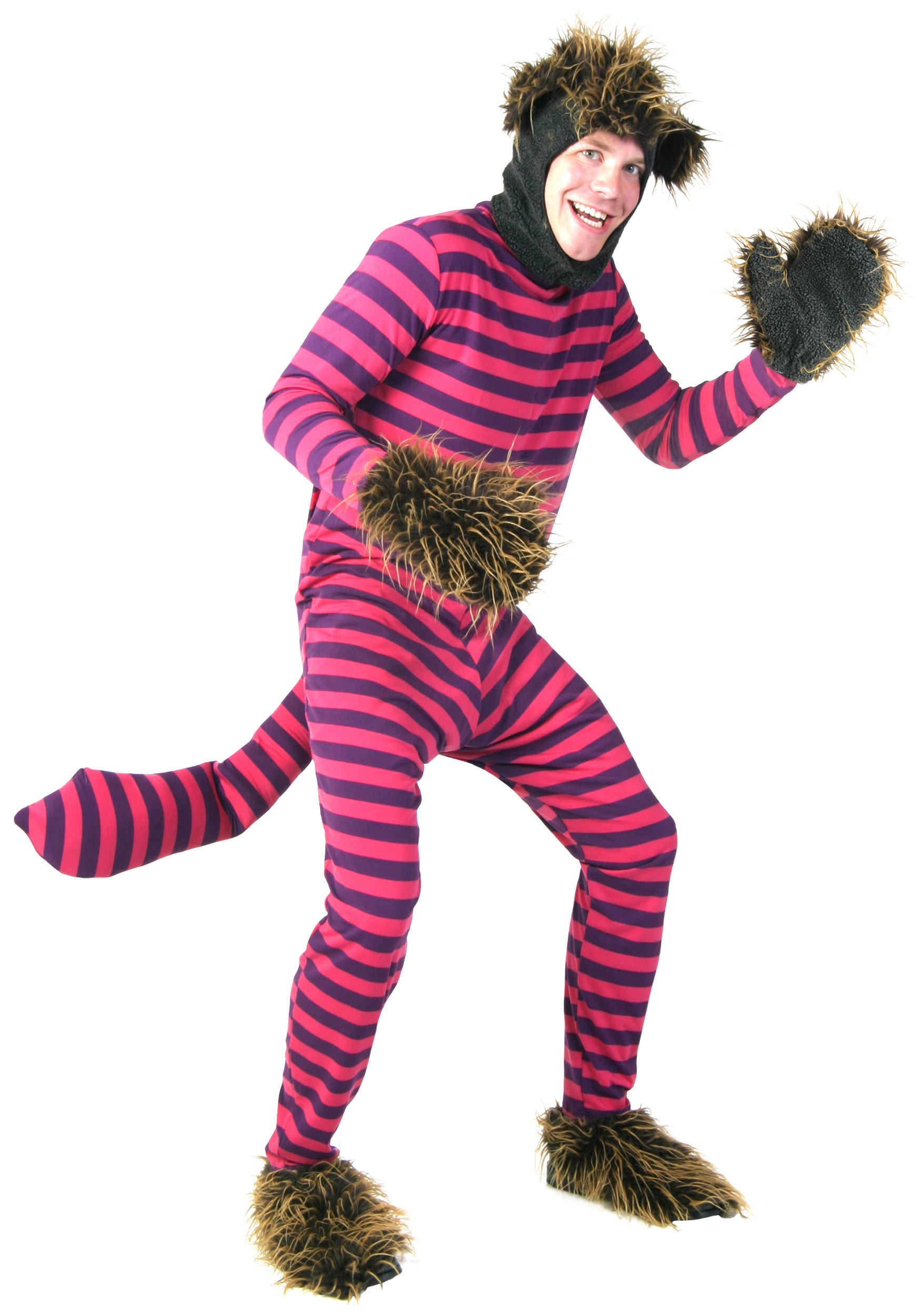 plus adult cheshire cat costume - cheshire cat costumes for adults
