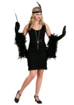 Classic Flapper Costume Plus
