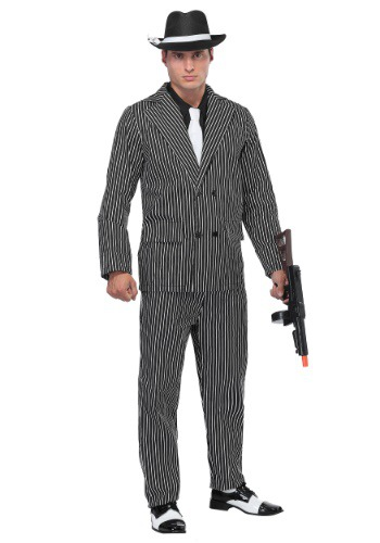 Plus Size 20's Gangster Costume
