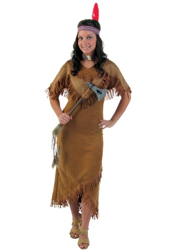 Women's Indian Costume Plus Size