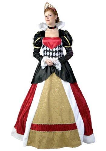 Exclusive Plus Queen of Hearts Costume