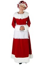 Exclusive Plus Mrs. Claus Costume