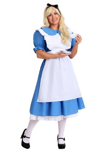 Plus Size Deluxe Alice Costume