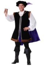 Adult Renaissance Man Plus Costume