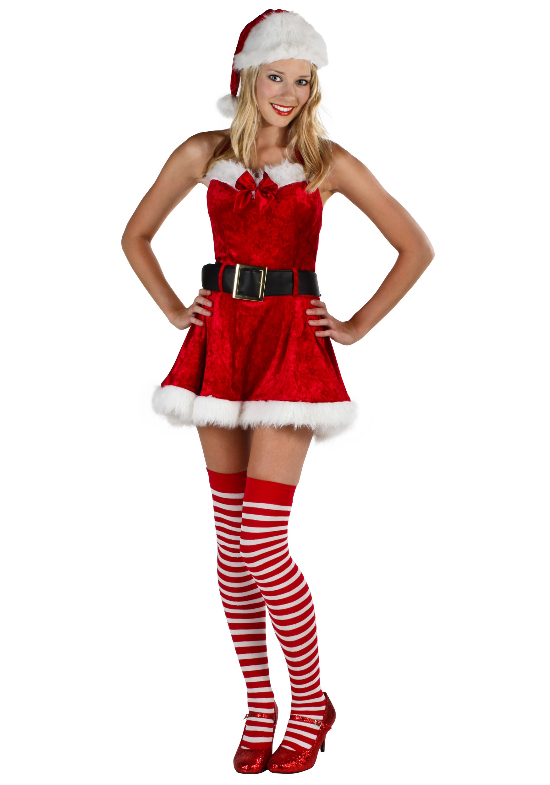 Plus Size Christmas Costumes.Mrs Sexy Claus Plus Costume