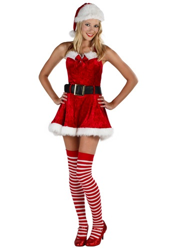 Mrs Sexy Claus Plus Costume