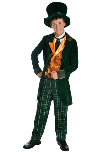 Mad Hatter Deluxe Teen Costume