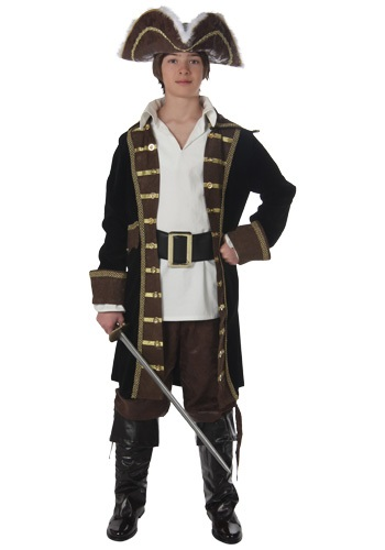 Teen Caribbean Pirate Costume
