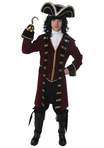Teen Boys Captain Hook Costume
