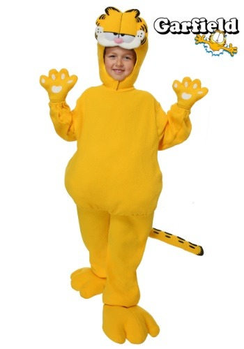 Childrens Garfield Costume