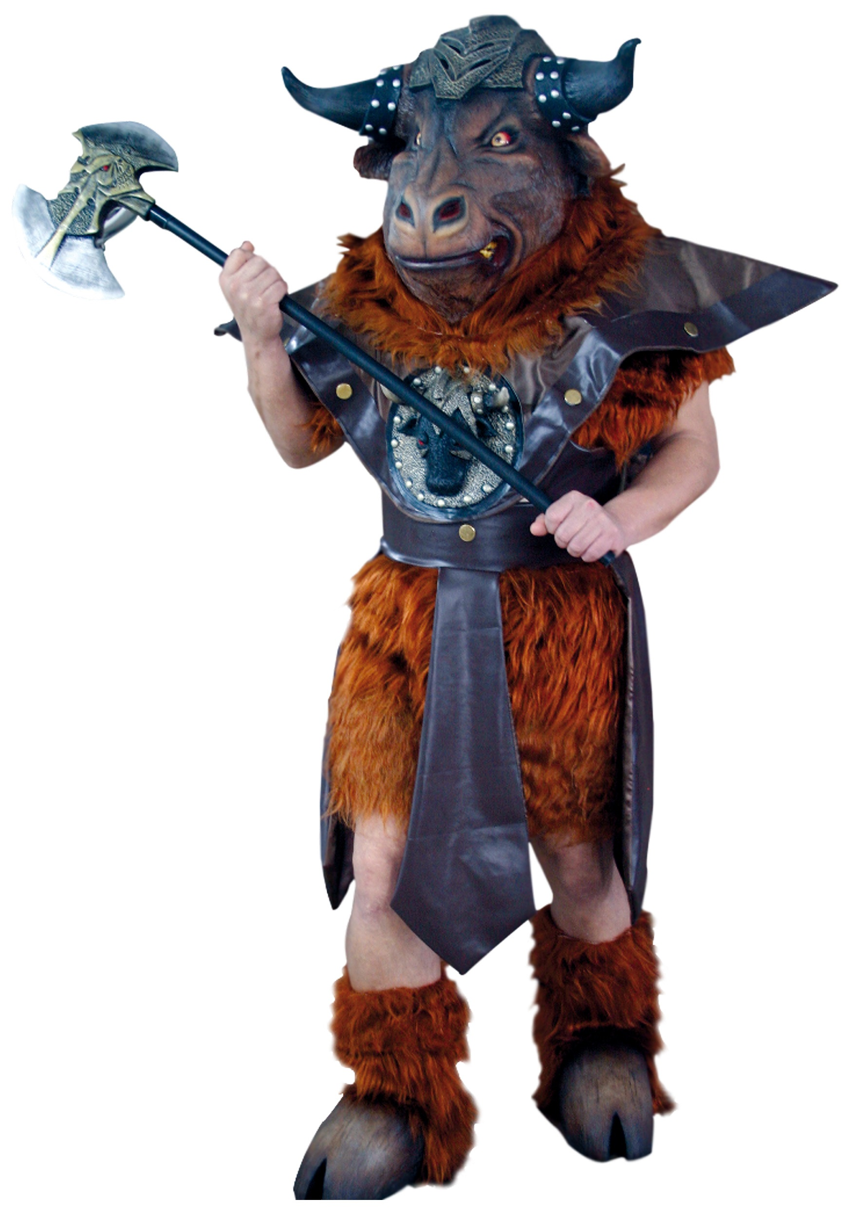 minotaur monster costume - scary beast halloween costumes