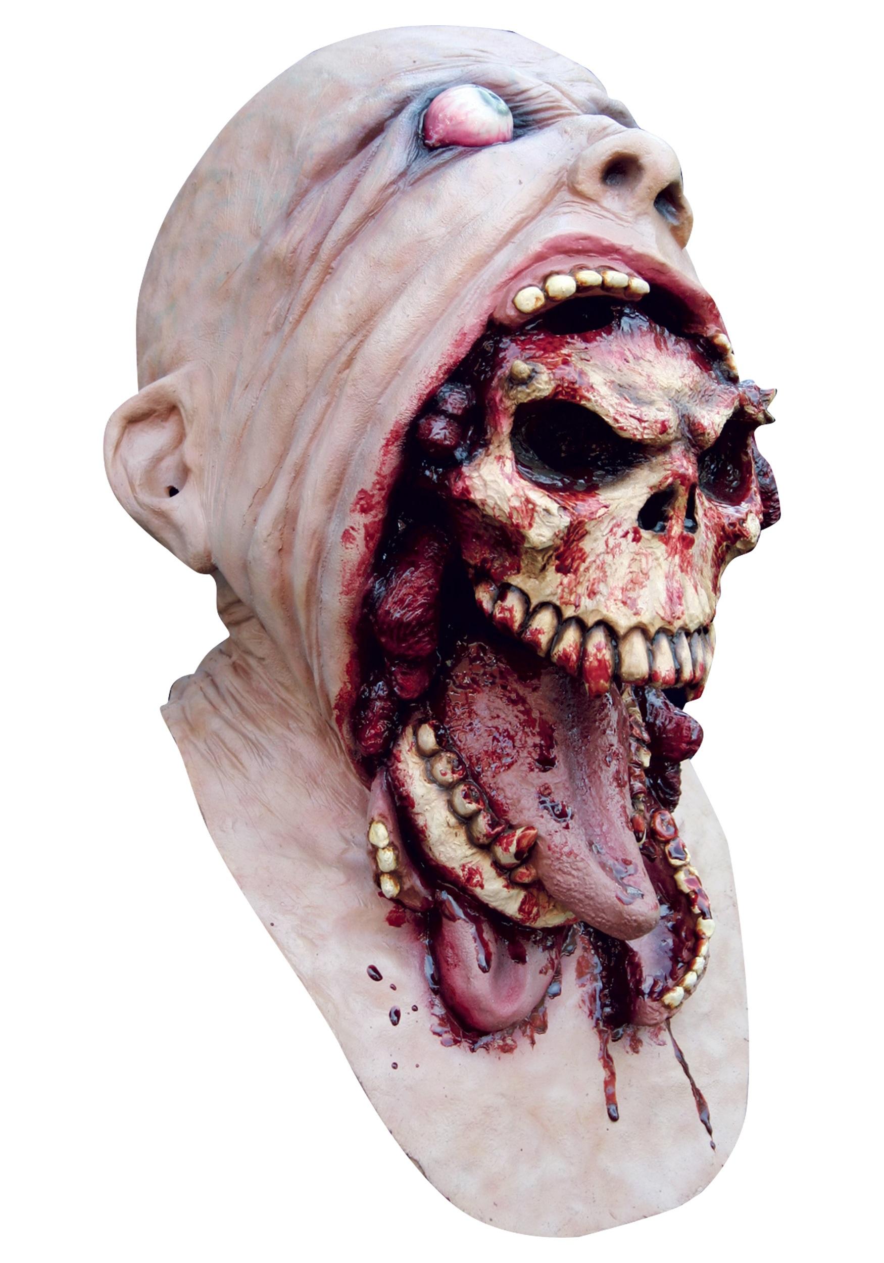 Realistic Scary Halloween Masks.Blurp Charlie Mask