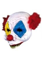 Half Face Scary Clown Mask