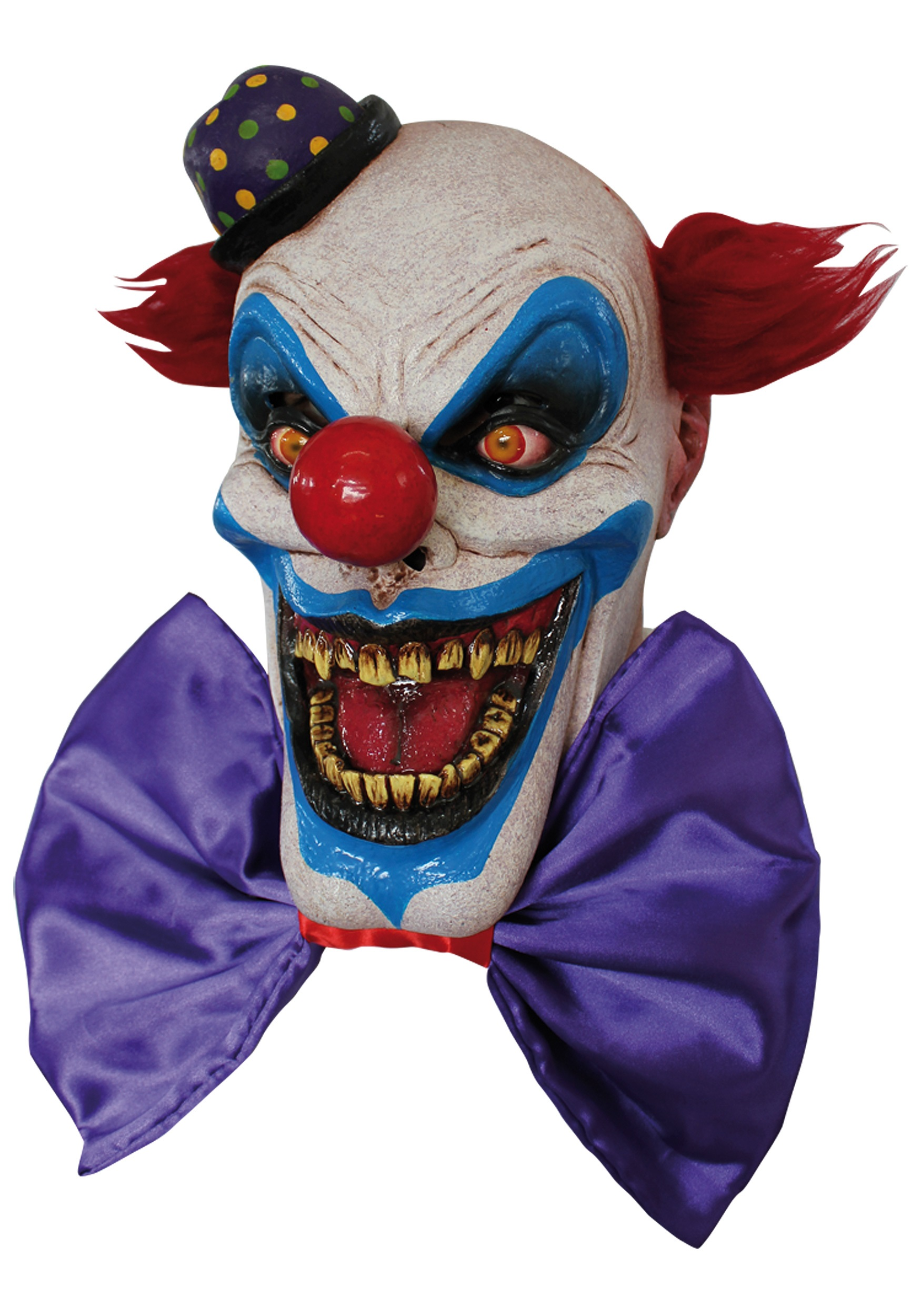 Fiendish Chompo the Clown Mask - Evil Clown Masks for Halloween