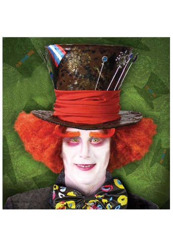 Bright Orange Mad Hatter Wig