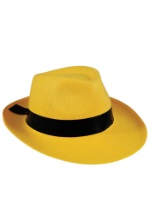 Yellow Gangster Fedora