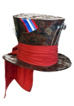 Mad Hatter Jumbo Brown Hat