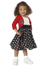 Toddler 50s Sock Hop Costume