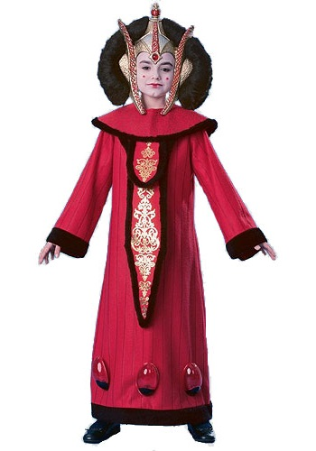Super Deluxe Queen Amidala Child Costume