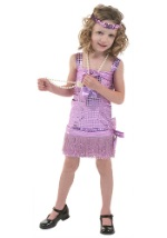 Toddler Purple Flapper Costume