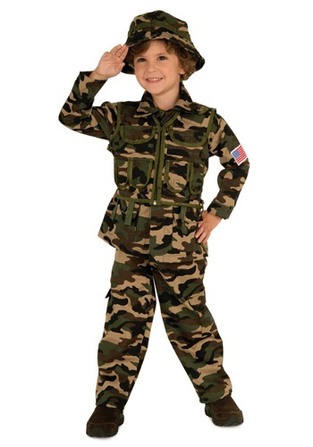 Child Army Costume