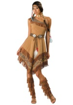 Womens Sexy Tribal Native Costume