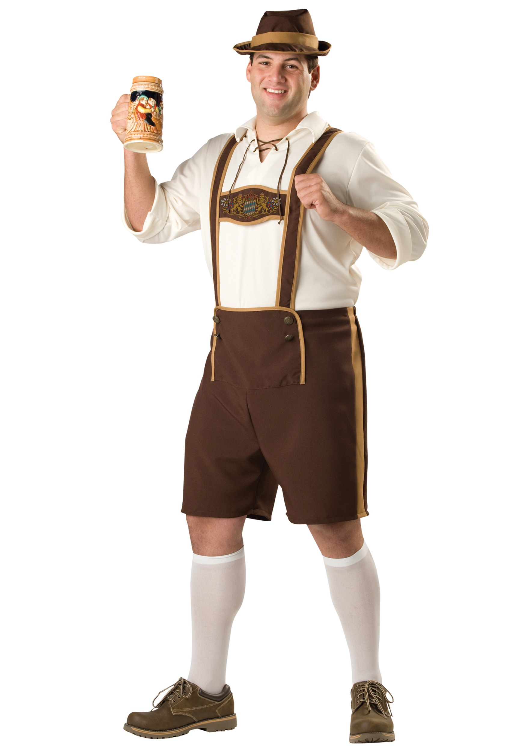 Plus Size Oktoberfest Guy Costume