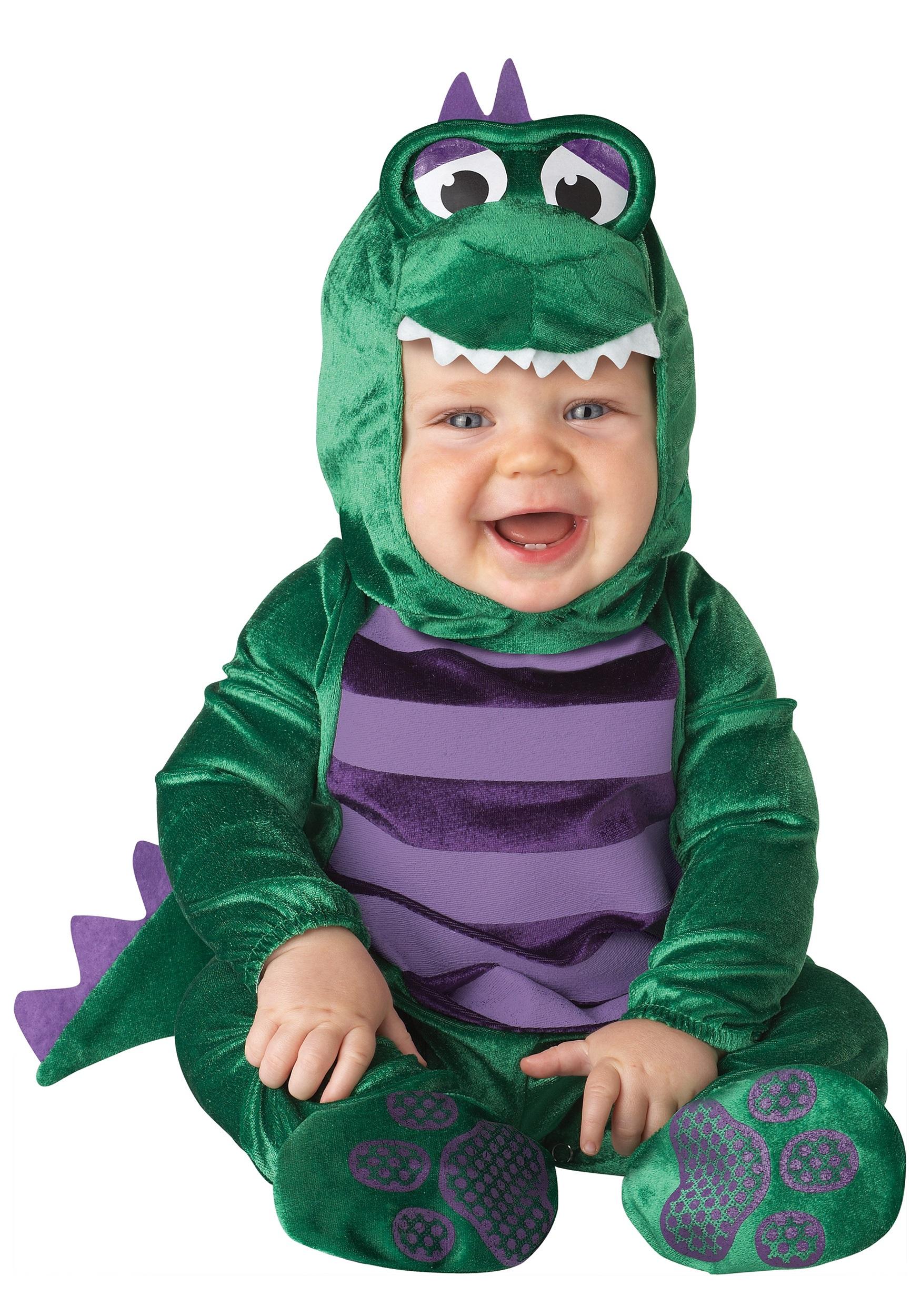 c8daeb13dd29 Dino Infant Costume - Infant Animal Costumes