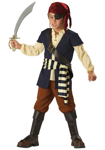 Boys Swashbuckling Mate Costume