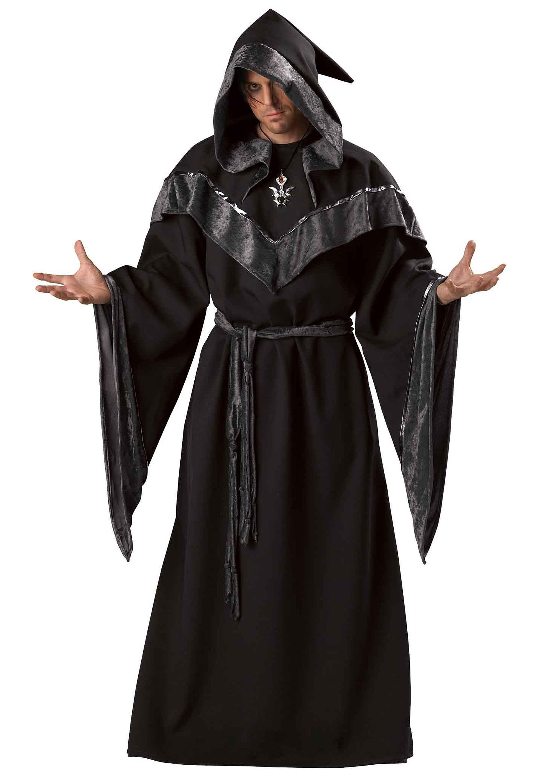 Mens Evil Sorcerer Costume - Mens Dark Wizard Costume Ideas