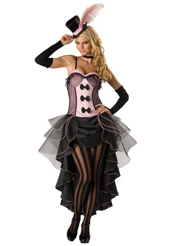 Burlesque Can Can Dancer Costume