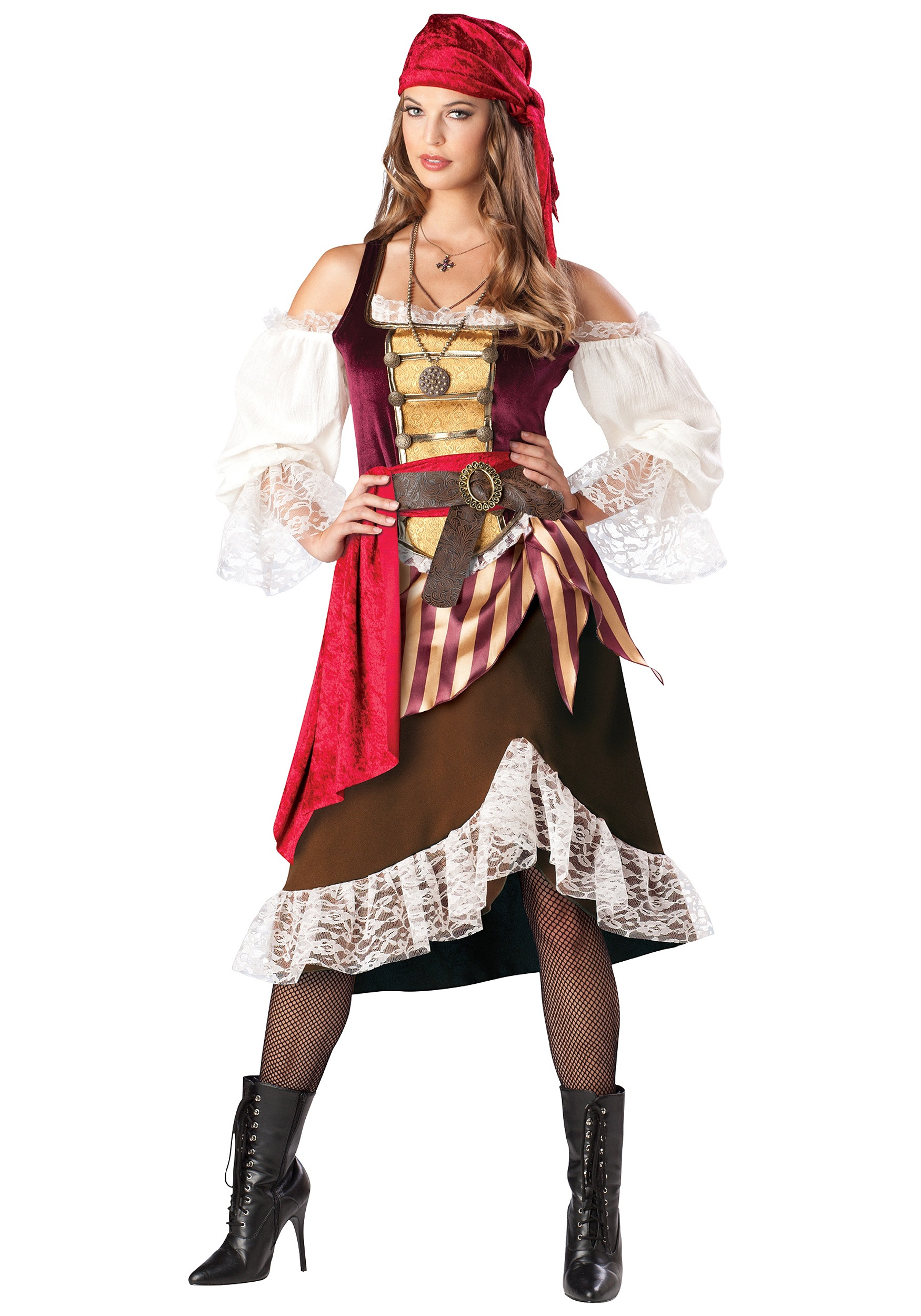 Darling Womens Pirate Costume - Female Authentic Sea Wench Costumes