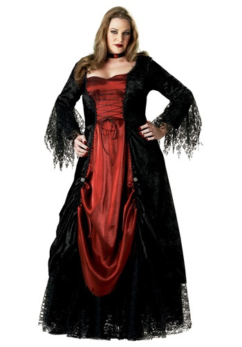 Plus Size Lady Vampire Costume