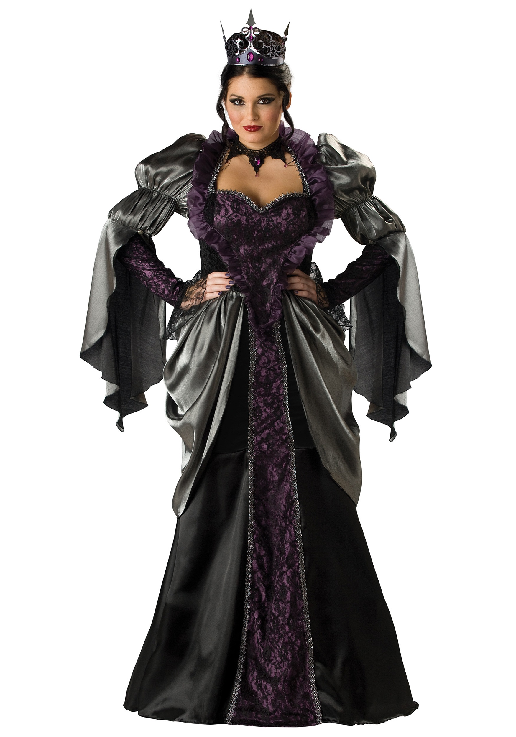 plus size wicked queen costume - evil queen costumes for plus size