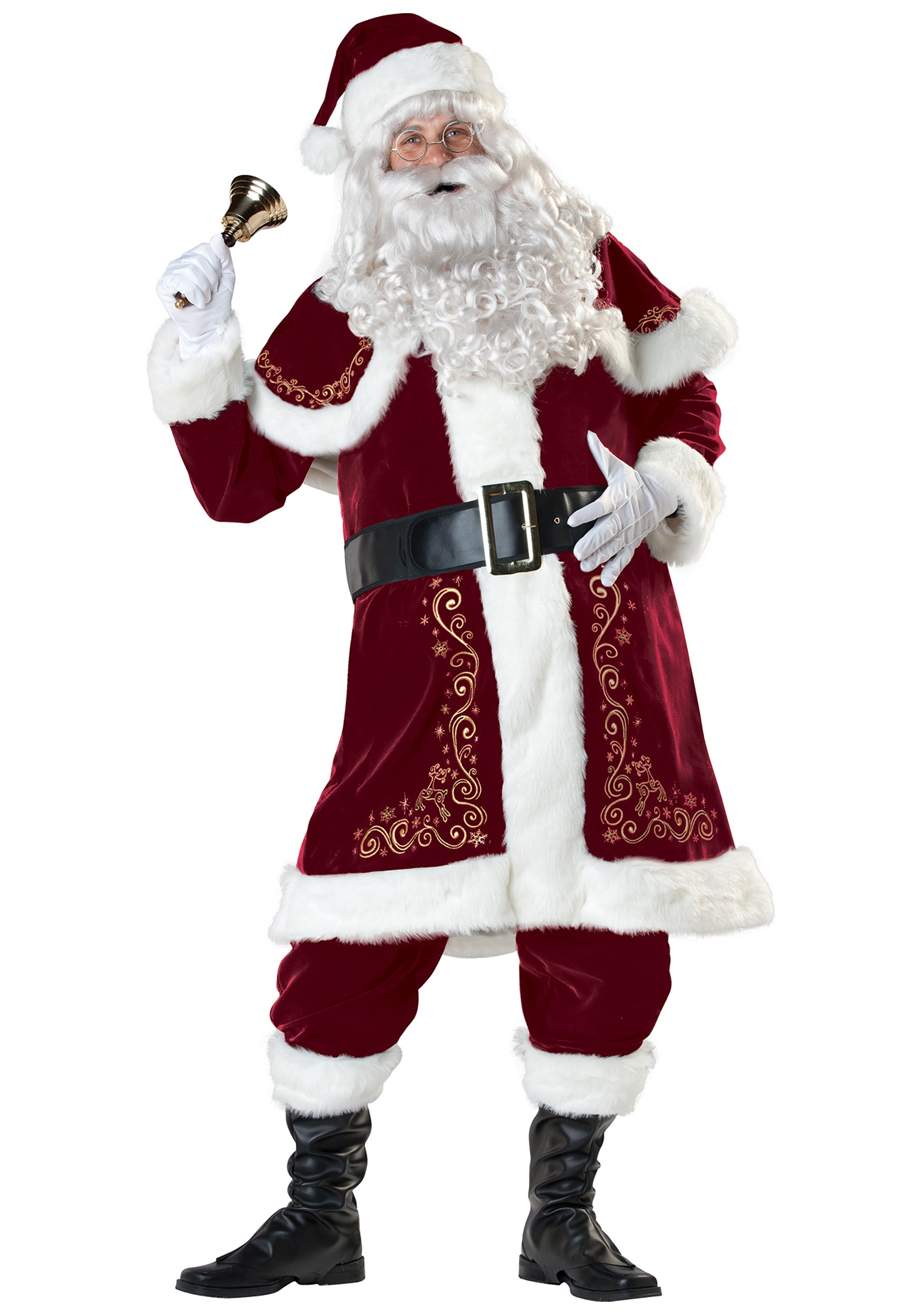 76c57d1ac6b Classic St. Nick Santa Costume - Adult Santa Claus Costumes
