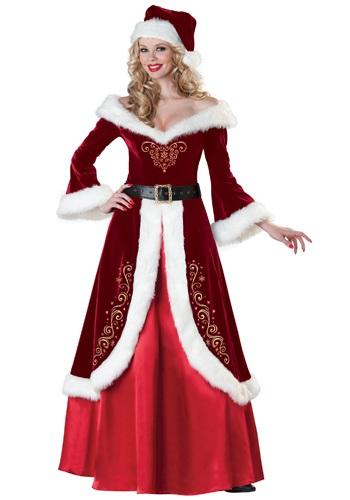 Womens Mrs. St. Nick Costume