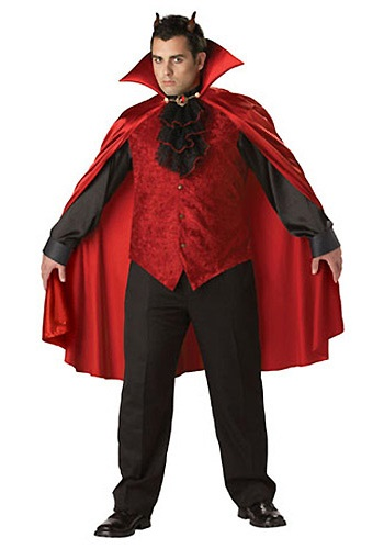 Plus Size Mens Devil Costume