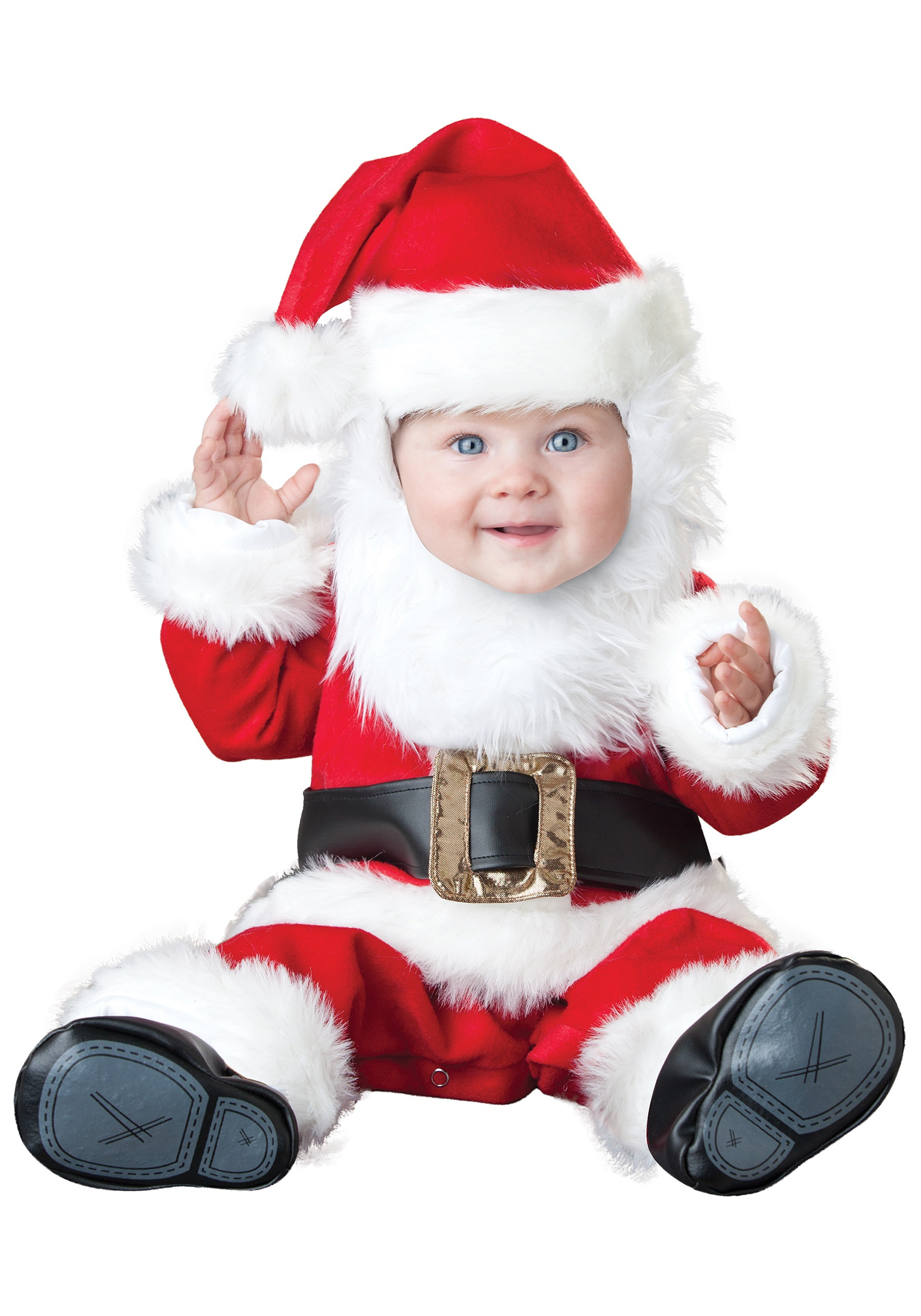 Baby Santa Costume  sc 1 st  Halloween Costume & Baby Santa Costume - Festive Santa Claus Costumes for Babies